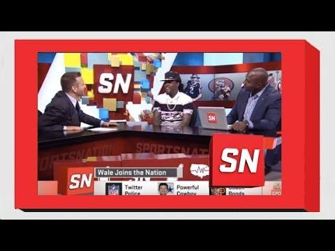 Wale Appears On ESPN Sportsnation