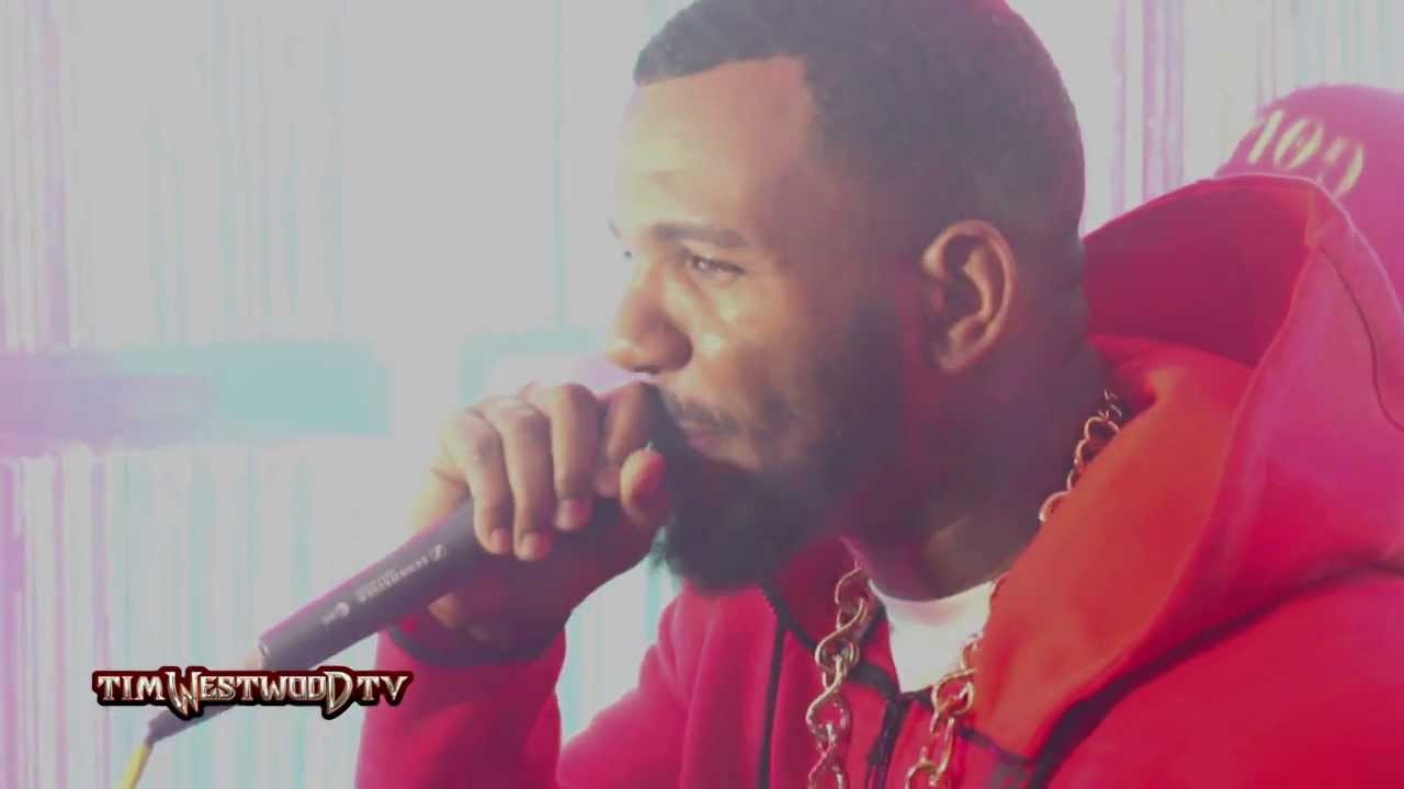 The Game Mentions 50 Cent In A Freestyle