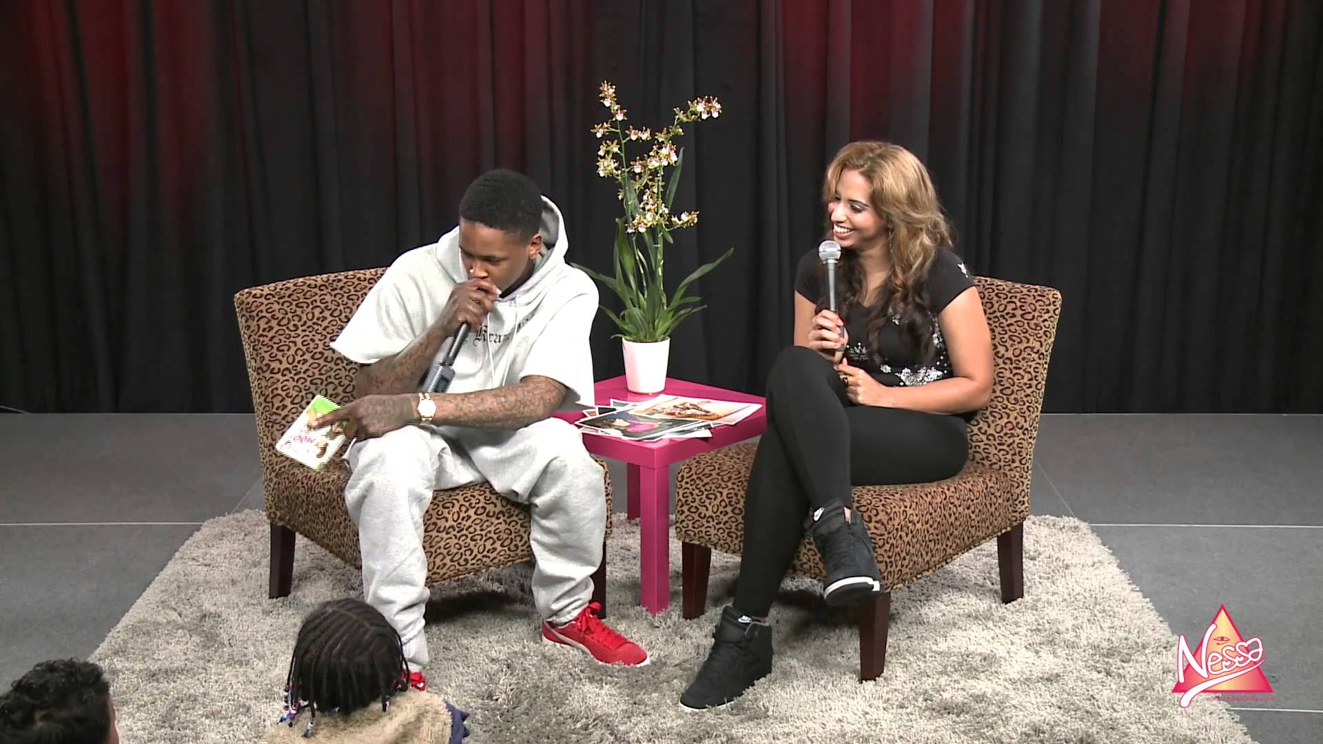 "YG Reads Dr. Seuss' ""Mr. Brown Can Moo, Can You"" To Kids"