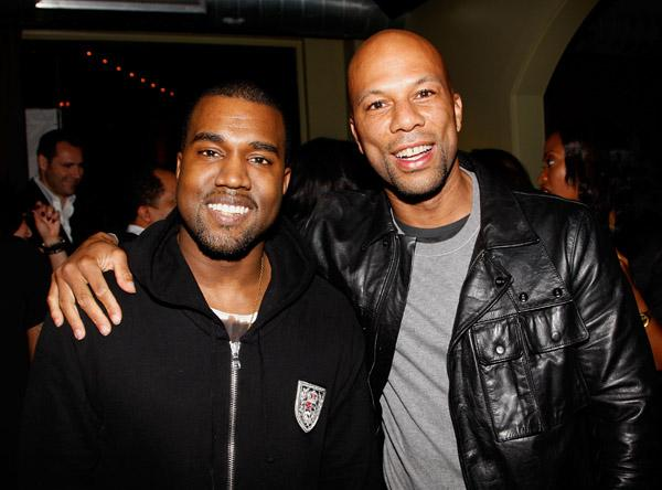 Kanye and Common