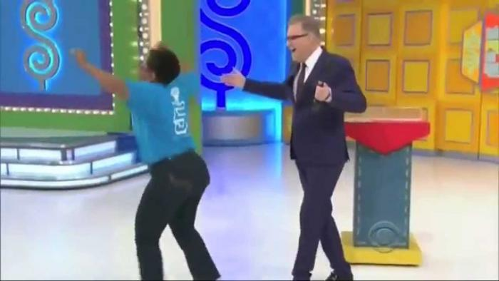 Grandma Is All The Way Turned Up After Winning On Price Is Right