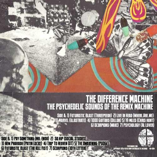 The Difference Machine – New Pharaoh