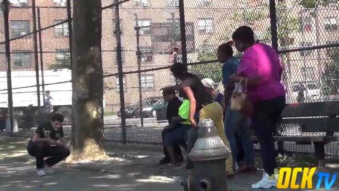 Grabbing Peoples Phones In The Hood Prank