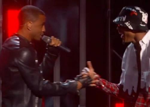 """August Alsina, Trey Songz & Chris Brown Perform """"I Luv Dis Sh!t"""" Remix At The 2014 BET Awards"""
