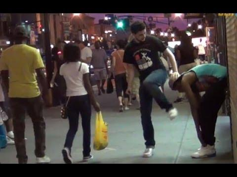 Another Farting In The Hood Prank