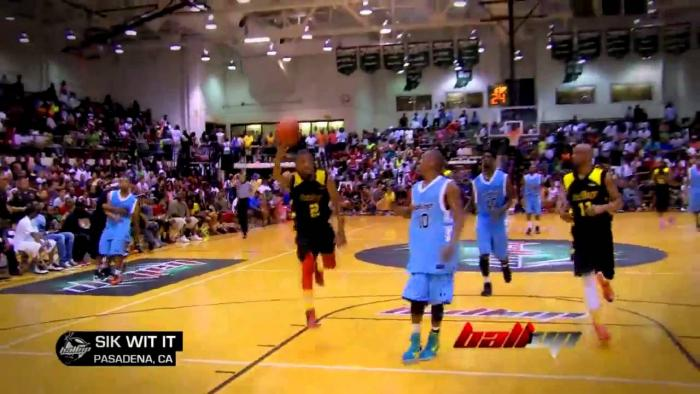 Ball Up vs George Hill's Team Indy