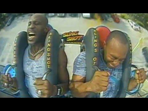 DMX Freaks Out On Orlando Amusement Park Ride