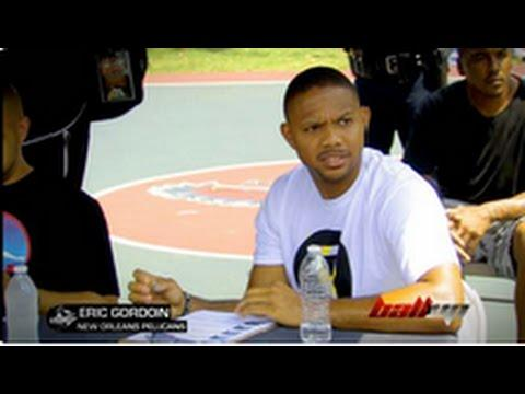Eric Gordon & Agent Zero Coach Team ATL Against Ball Up
