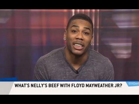 Nelly Fires Shots At Floyd Mayweather On ESPN