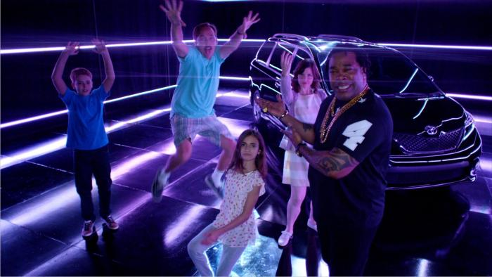 "Busta Rhymes Stars In Toyota Sienna ""Swagger Wagon"" Commercial"