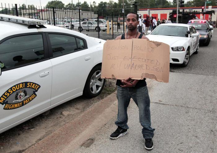 Police Fatally Shoot Unarmed Black Teenager Michael Brown