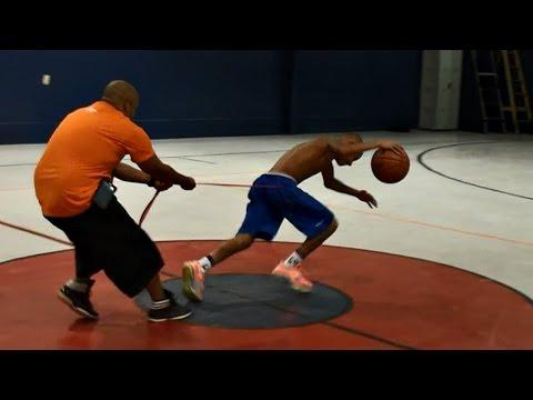 12-Year-Old Hoop Phenom Insane Workout