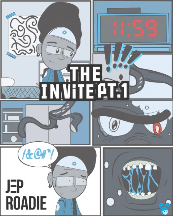 The Invite Pt.1 (Minute til Midnight) Artwork