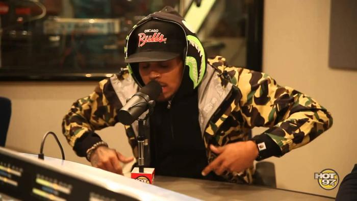 Chris Brown On Funkmaster Flex [Freestyle]