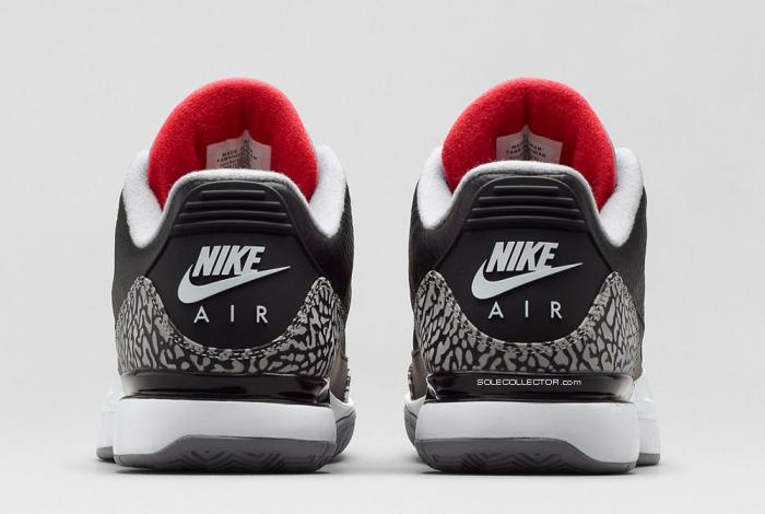 Nike Zoom Vapor Air Jordan 3 [Black/Cement]