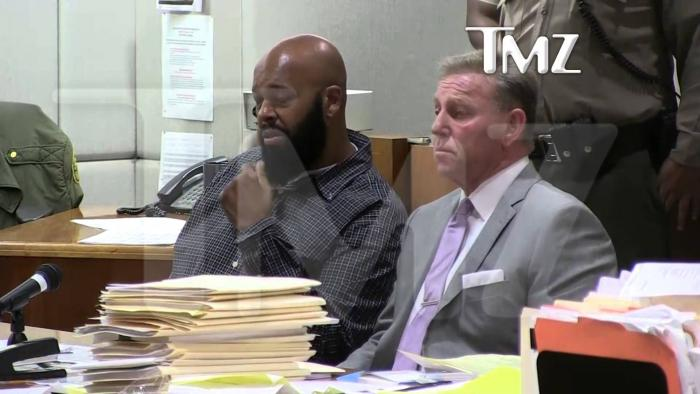 Suge Knight Emotional As He Surrenders On Robbery Charges