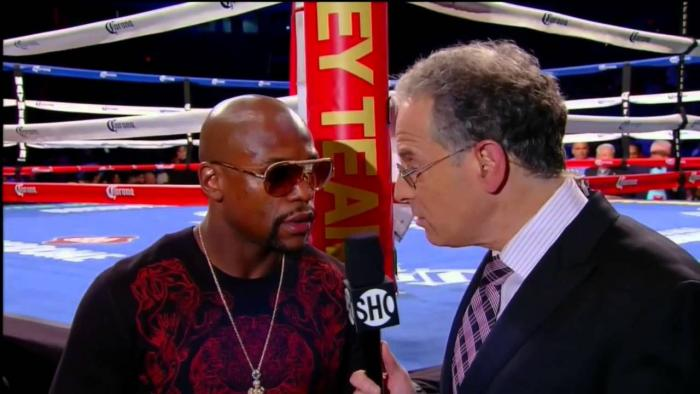 Floyd Mayweather Calls Out Manny Pacquiao For May 2nd Showtime PPV Event