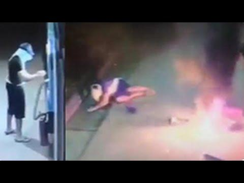 Thief's Plan To Blow Up An ATM Machine Backfires