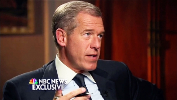 "Brian Williams Raps Snoop Dogg's Classic ""Who Am I?"""