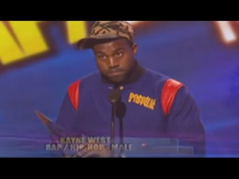 Kanye West Giving Up His AMA Award Back In 2008 To Lil Wayne
