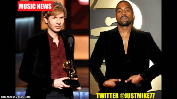 Kanye West Goes On Epic Rant During The Grammy's