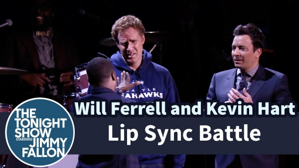 Will Ferrell, Kevin Hart And Jimmy Fallon Hilarious Lip Sync Battle