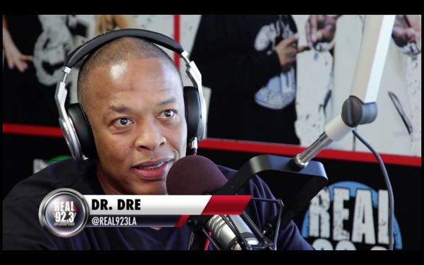 "Dr. Dre Speaks On ""Straight Outta Compton"" Soundtrack"