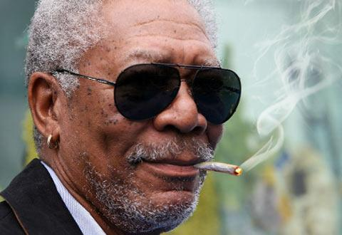 Morgan Freeman Defends Marijuana Use, Supports Legalization