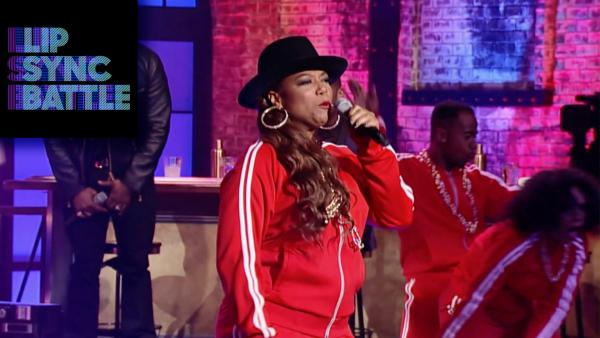 Queen Latifah Rocks the Bells on Lip Sync Battle