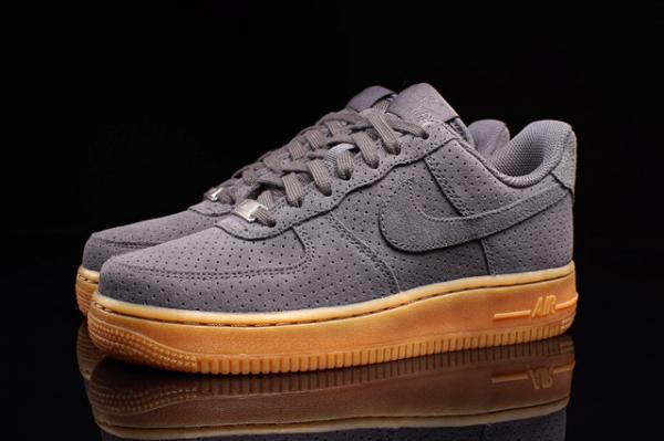 Nike Air Force 1 (Dark Grey/Gum) [VMG Approved]