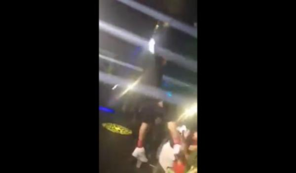 Kevin Gates Kicks Lady Fan In Her Face For Touching His Leg
