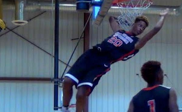 Shaq's Son 6'8 Shareef O'Neal Shows Out At Bigfoot Hoops Las Vegas Classic
