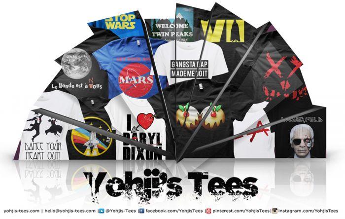Yohji's Tees – Custom Made Pop Culture Printed T-Shirt