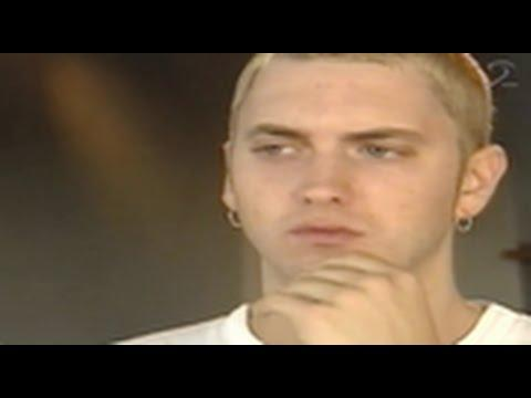 Slim Shady/Eminem Keeps It Real During Swedish TV Interview (Rewind Clip)