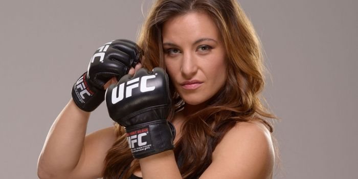 Female UFC Fighter Miesha Tate Takes On 6 Guys In A Row