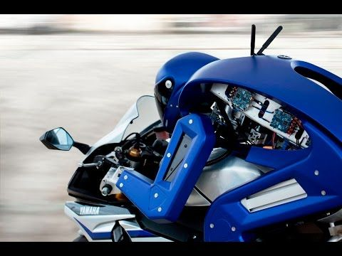 Yamaha's Robot That Can Ride Superbikes