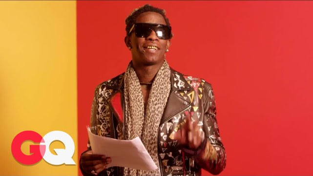 "Young Thug Reading His ""Best Friend"" Lyrics Might Be the Best Thing You Watch All Day"