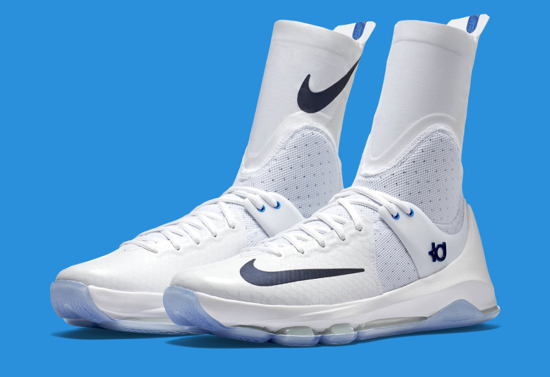 Kevin Durant's Crazy Tall Sneakers for the Playoffs