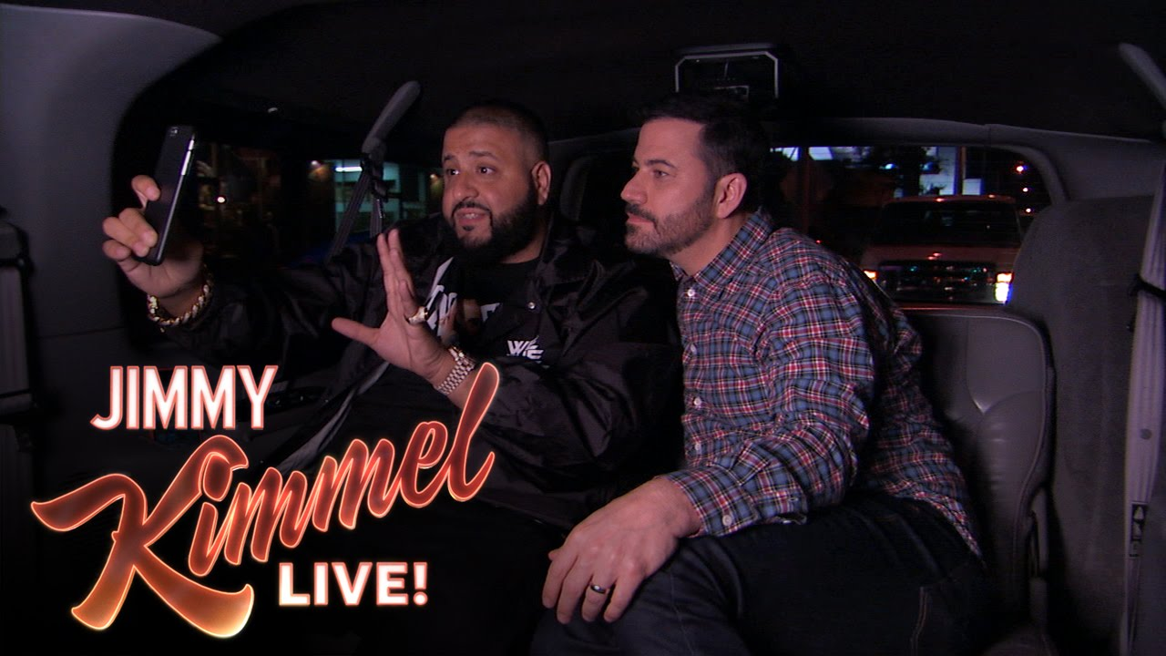 Jimmy Kimmel Enlists DJ Khaled As His Snapchat Coach