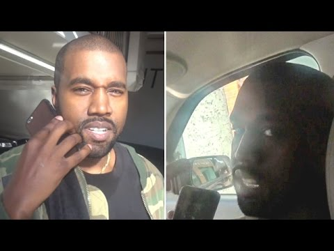 Kanye West Ditches Uber And Gets Ride From The Paparazzi
