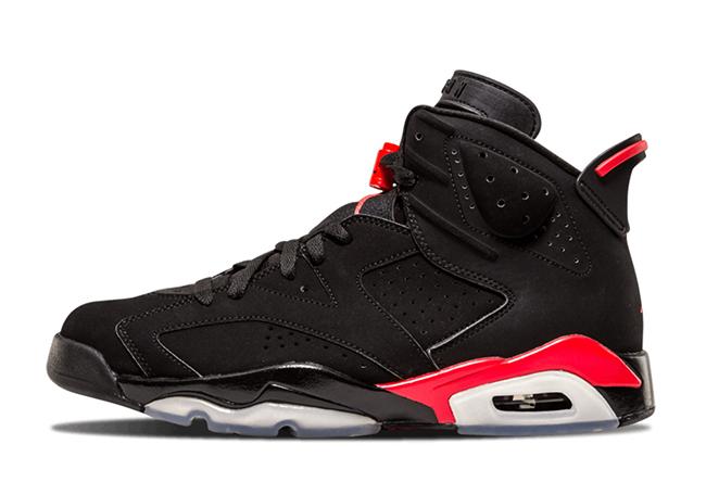 Alternate Air Jordan 6 'Infrared' Sample