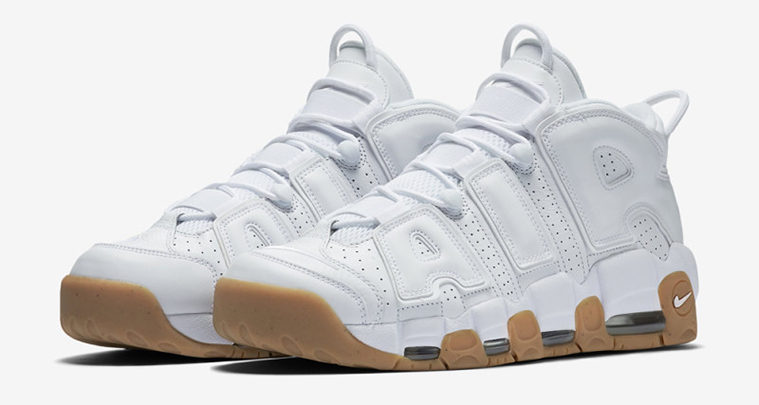 Nike Air More Uptempo White/Gum – Wider Release Date