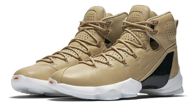"Nike LeBron 13 Elite EXT ""Linen"" Release Date"