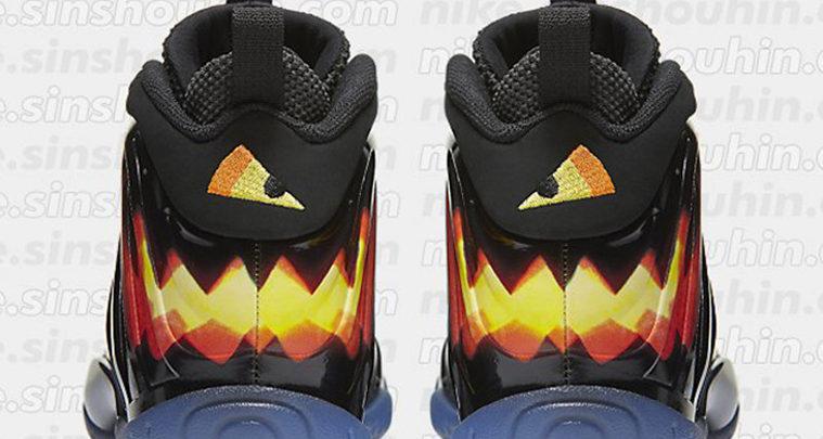Graphic Nike Foamposites Releasing for Halloween