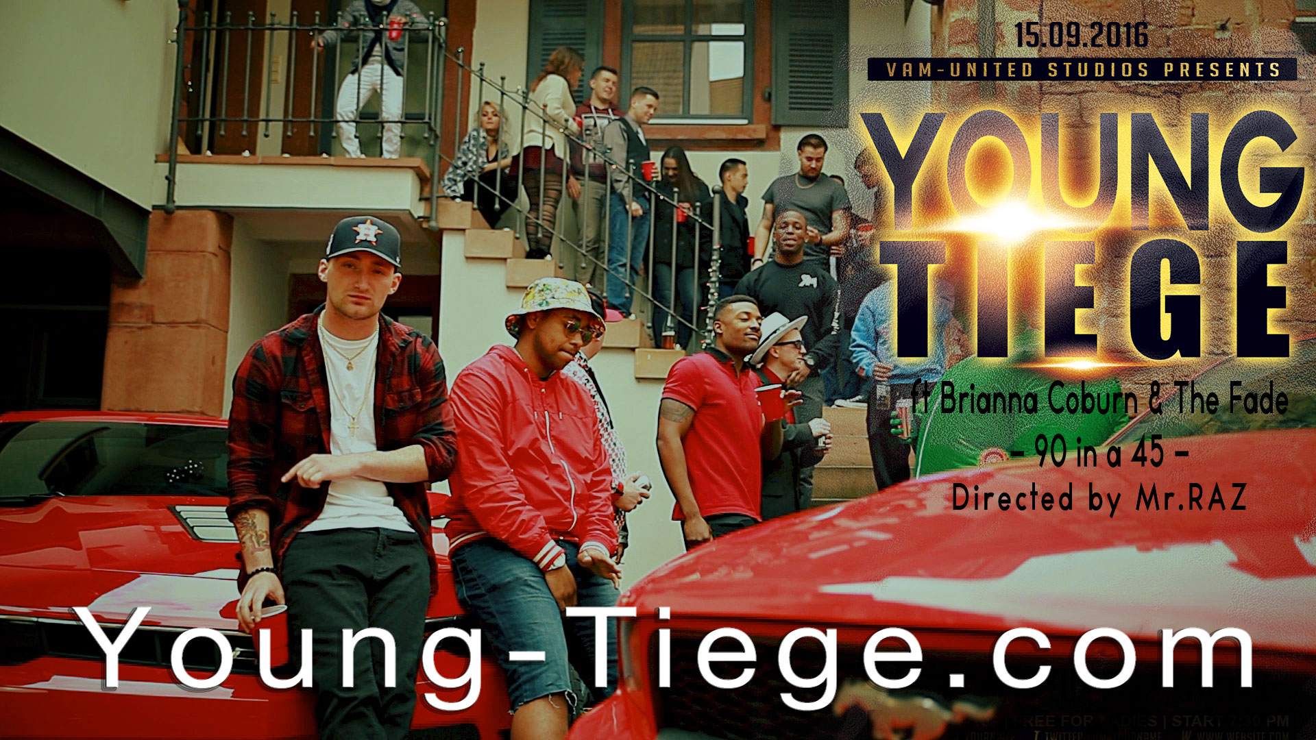 Young Tiege Feat. Brianna Coburn & The Fade – 90 In A 45