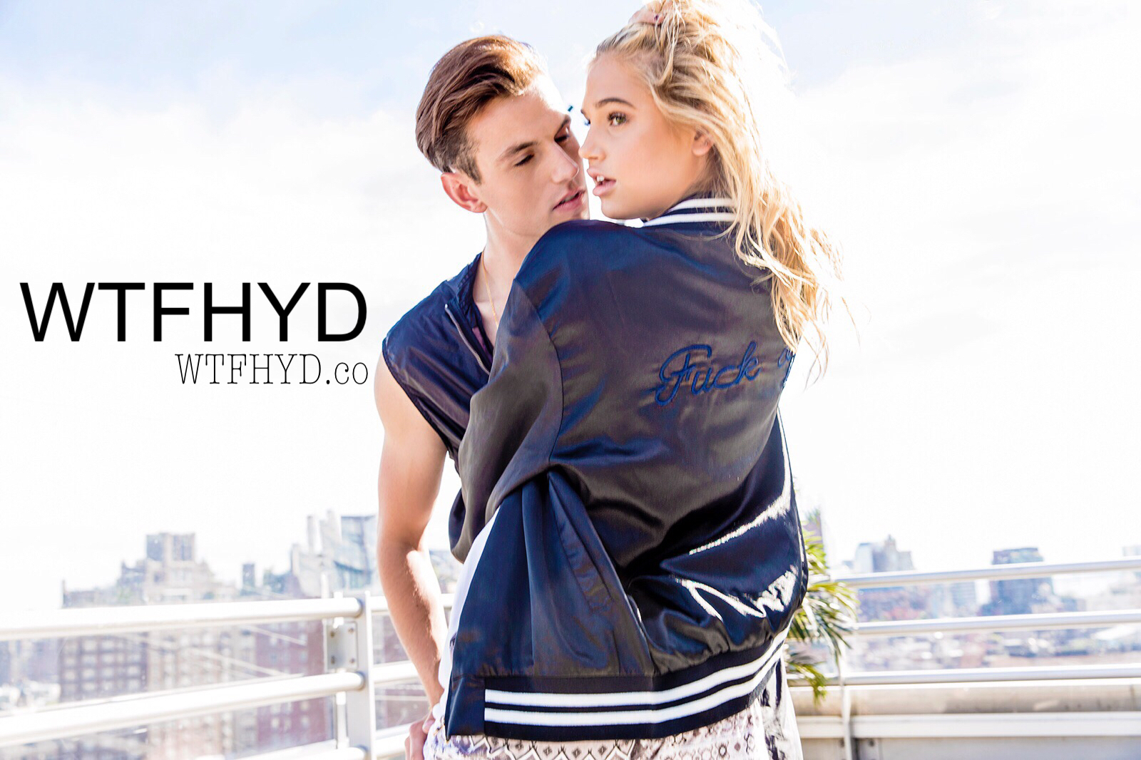 WTFHYD Shoots Debut Campaign On Manhattan Rooftop With Meredith Mickelson and Jessica Simpsons Dad Joe