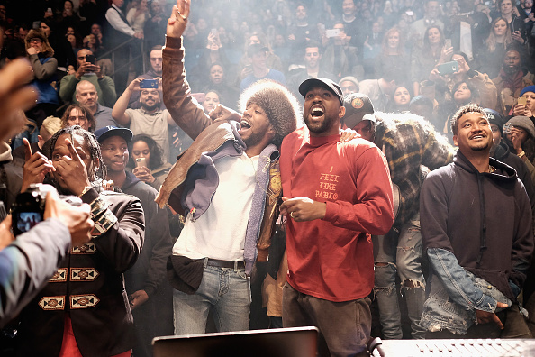 Kanye West Calls Out KiD Cudi On Saint Pablo Tour