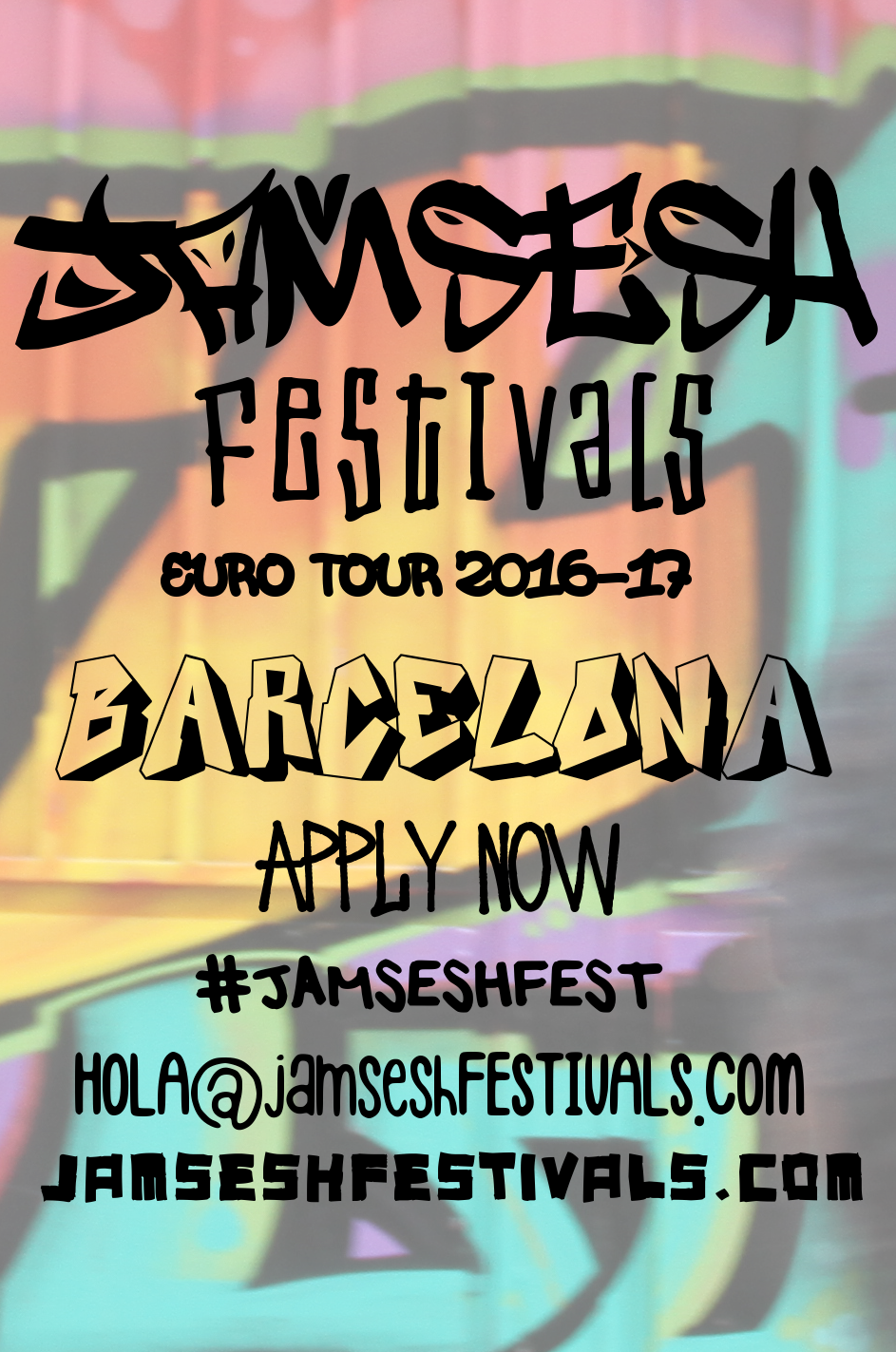 JamSesh Festivals EuroTour'16 Covering 22 Cities In 33 Days #JAMSESHFEST