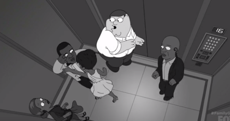 'Family Guy' Makes Fun Of The Jay Z & Solange Elevator Incident