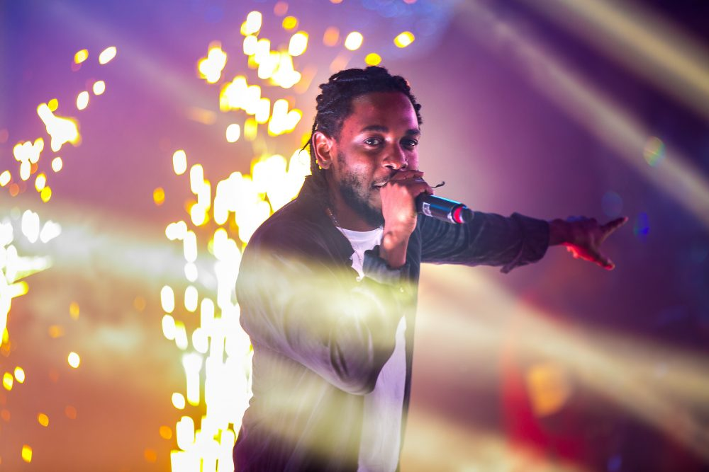 Kendrick Lamar and Young Thug Get Together On Stage In Las Vegas